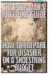 Poor man's prepping guide  - free kindle book