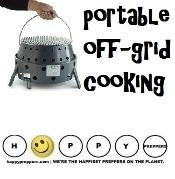 Portable off-grid cooking