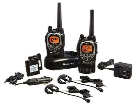 Midland two way radio communications set