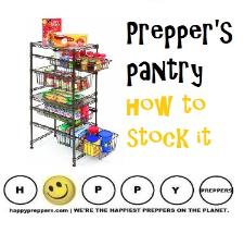 How to set up the prepper's pantry