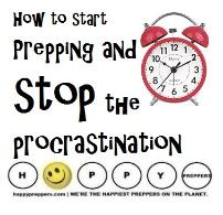 How to stop procrastination and start prepping