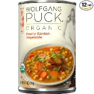 Wolfgang Puck Organic vegetable garden soup