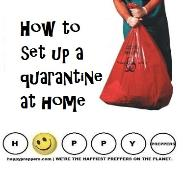How to set up a quarantine at home