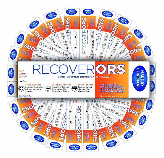 RecoverORS dehydration treatment