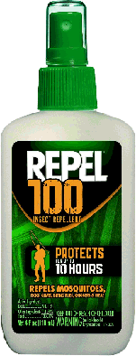 Use repel to help avoid West Nile Virus