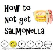 How to not get salmonella