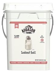 Augason Farms Iodized Salt bucket