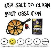 How to use salt to clean your cast iron