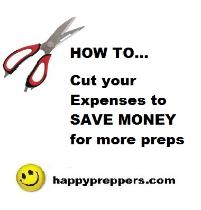 Save money prepping