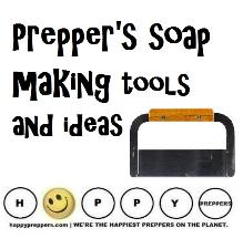Prepper's soap making tools and ideas