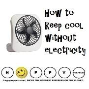 How to keep cool without electricity