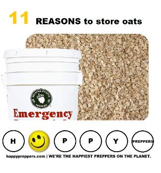 11 reasons to make oats part of your food storage