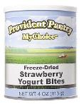 Provident Pantry freeze dried yogurt bites