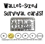 Wallet sized survival cards