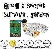 Grow a secret garden ~ survival garden seeds