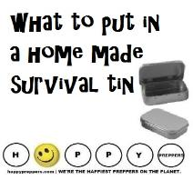Altoids first aid kit ~ home made survival tin