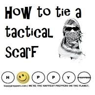 How to tie a tactical Scarf