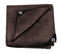 Stansport Reinforced Brown Rip-Stop Tarp