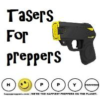 Tasers and stun guns for preppers