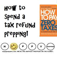 how to spend a tax refund prepping (and pay no taxes next year)