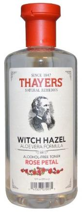 Thayers witch hael with aloe vera and rose petal