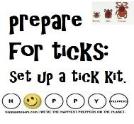 Prepare for ticks: set up a tick kit