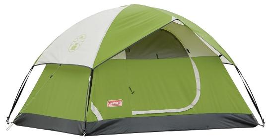 Coleman two-person tent