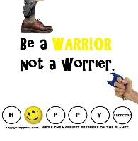 Be a warrior and not a worrier