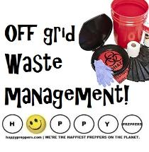 Off-grid waste management