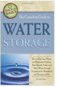 Emergency Water Storage Options