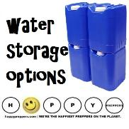 Water storage Options