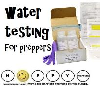water testing for preppers