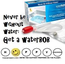 Waterbob ~ bathtub reservoir