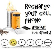 Recharge your cell phone wihtout electricity