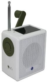 all weather ambient radio hand crank