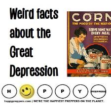 Weird facts about the great depression