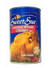 Canned whole chicken - pack of two