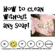 How to wash without soap