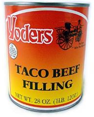 Yoder's Taco beef filling