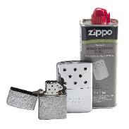 Handwarmer and fuel set from zippo