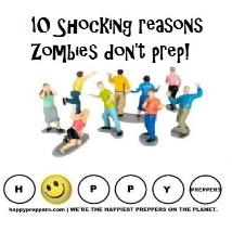 Ten shocking reasons zombies don't prep